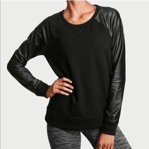 Victoria Secret Sport Shiny Long Sleeves Pullover